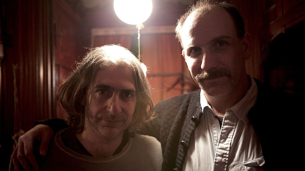 Michael Imperioli and Nick Sandow on set of Houses